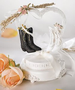 cowboys wedding cake