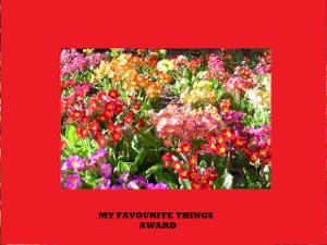 Favourite things award