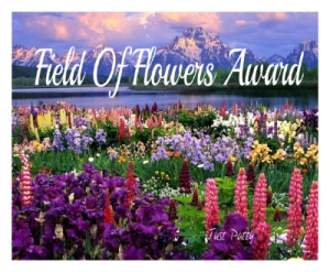 field-of-flowers-award