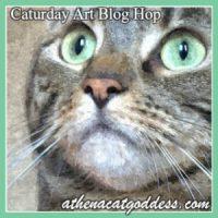 caturday art Athena